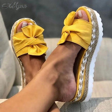2020 Summer Fashion Sandals Shoes Women Platform Bow Summer