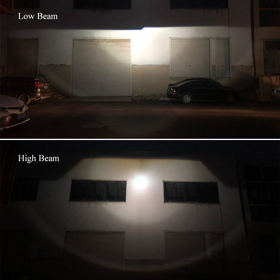 bi-xenon hid lente do projetor mini farol