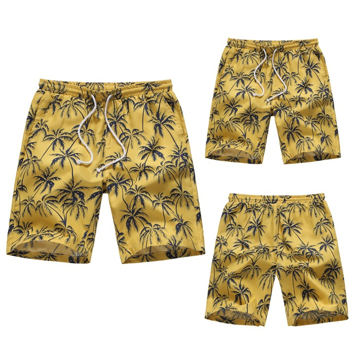 2019 Hawaii Floral Casual Beach Shorts Fashion Europe And America Code Hot Selling Shorts St102