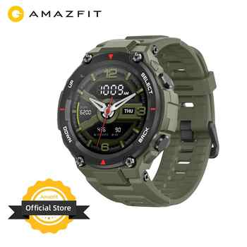 Neue 2020 CES Amazfit T-rex T rex Smartwatch 5ATM 14 Sport Modi Smart Uhr GPS/GLONASS MIL-STD für iOS Android telefon