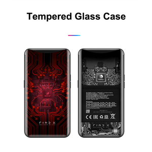 Image 5 - for OPPO Find X Case 6.42 6D Curved Tempered Glass Phone Case Cover for OPPO Find X FindX Cover 360 Full Protective Funda Capa