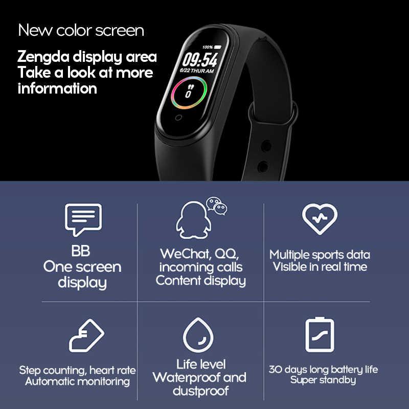 M4 M5 Bracelet intelligent Fitness Tracker montre intelligente Smarthwatch Bracelet fréquence cardiaque pression artérielle Smartband moniteur santé Bracelet