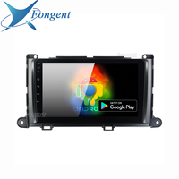 for Toyota Highlander 2009 2010 2011 2012 Navigation HDMI Vehicle 10.2 inch IPS 1 Din Car Radio Player Android 9.0 Head Unit pc