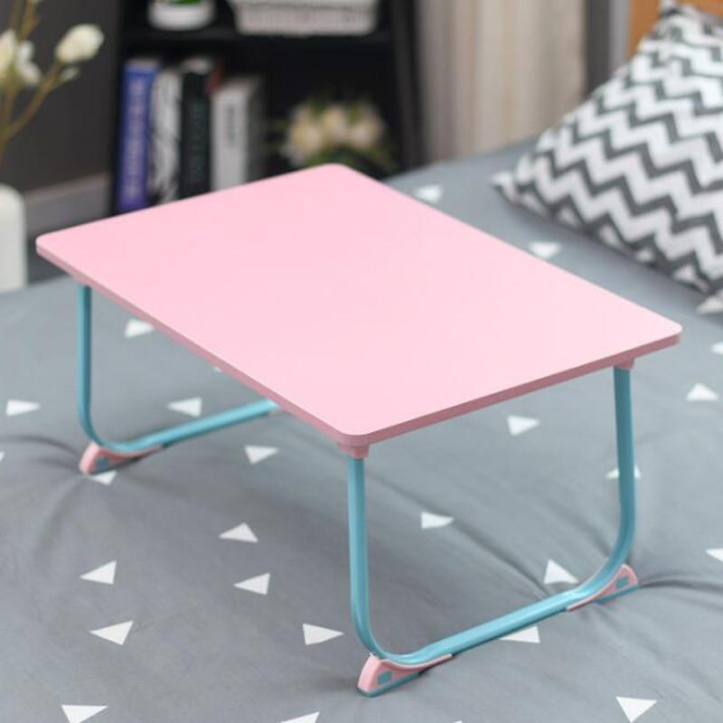 5 Colors Folding Movable Laptop Desk Portable Computer Desk Lazy Desk Small Table Use On Bed Simple Design 40x60cm Laptop Desks Aliexpress