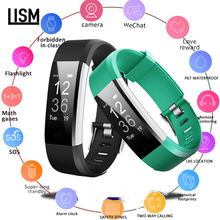 115 PLUS Smart Wristband Sports Heart Rate Band Fitness Tracker Bracelet fashion Watch for IOS Android