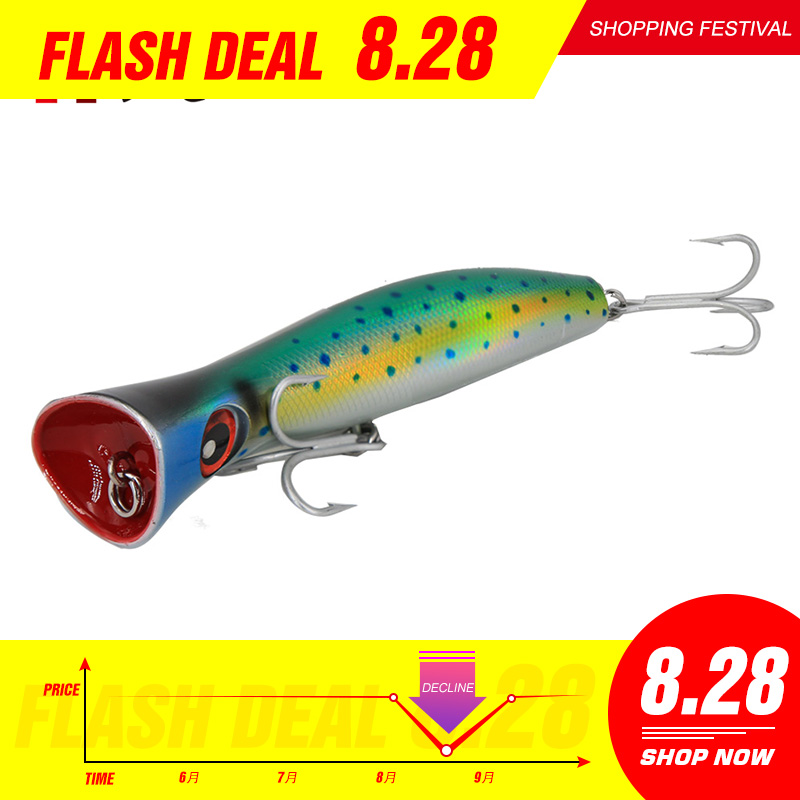 Noeby fishing Topwater trolling Popper Lure Crankbait Wobblers Tackle sea fishing for trolling japan new hard baits japan|Fishing Lures| |  - title=