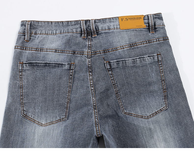 KSTUN New Arrivals Mens Jeans Brand Slim Straight Regular Fit  Stretch 2020 Summer Denim Pants Jeans Men Vintage Cowboys Top Quality 14