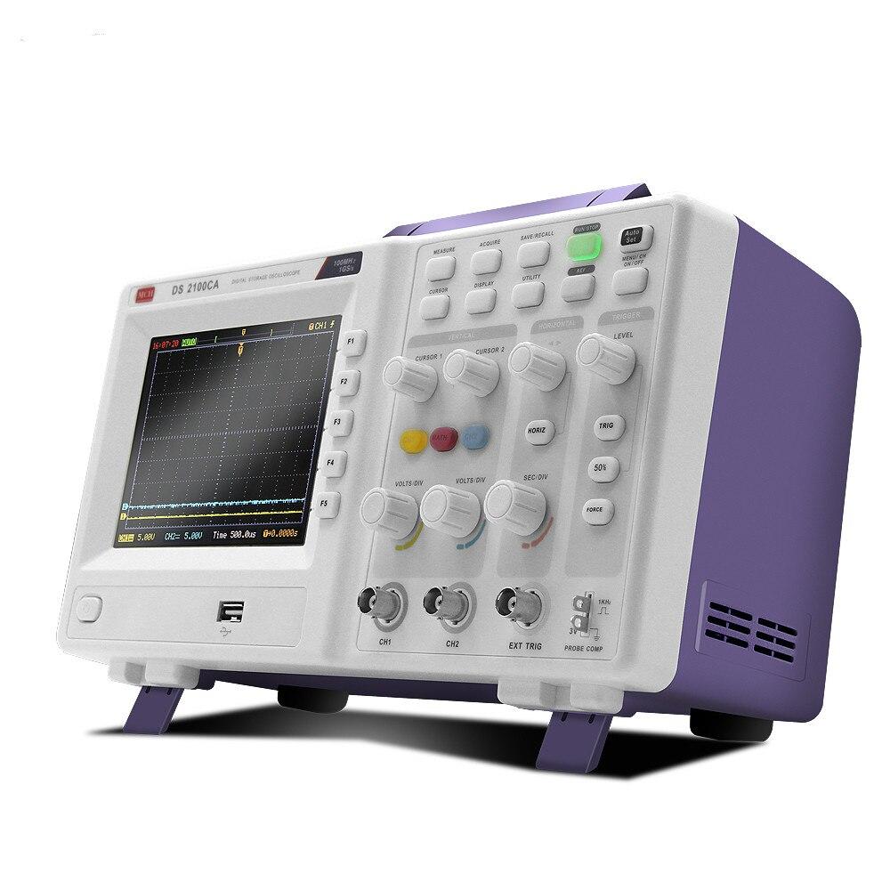 デジタルオシロスコープのサンプリングレート 1GS 300mhzの帯域幅カラーディスプレイ高解像度オシロスコープusb通信インタフェース