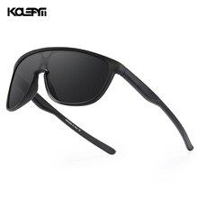 KDEAM New Exclusive One Piece Men's Sunglasses TR90 Material Mirror Sun Glasses