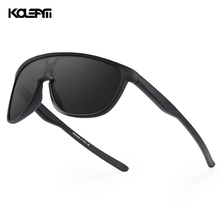 KDEAM New Exclusive One Piece Men's Sunglasses TR90 Material