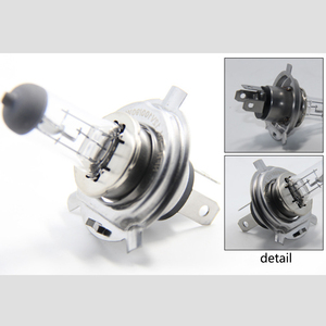 Image 3 - Carctr H7 ハロゲンランプH4 12v/24v 100 ワットH1 H3 ハロゲン電球遠近曇ライト超高輝度トラック車のヘッドライトフォグランプ 2 個