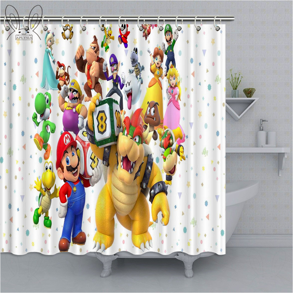 Shower Curtain Cartoon For Kids