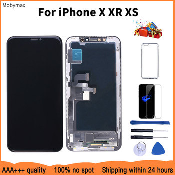AAAA 100% New OLED Lcd For iPhone X XR Display Wholesale Price From Factory Display For iPhone XS Screen 100% Test Good 3D Touch