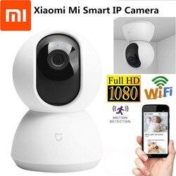Xiaomi Mijia inteligentne kamery 1080P WiFi Pan Tilt aparatu bezpieczeństwa w nocy kamery internetowej 360 kąt bezprzewodowy wyciszenie silnika kamera IP kamera Wifi 1