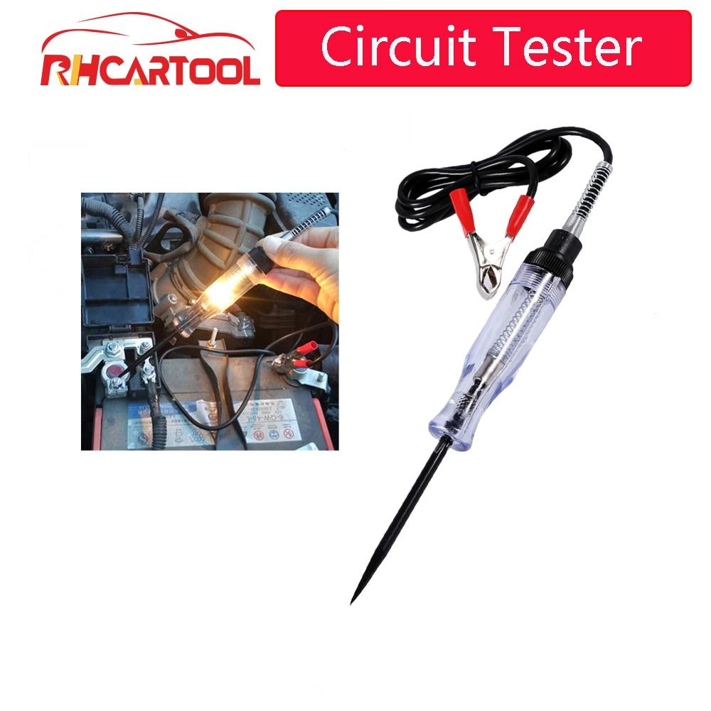 OBD2 voiture accessoires voiture Circuit testeur stylo tension électrique Auto automobile lumière sonde stylo détecteur Diagnostic Test outils