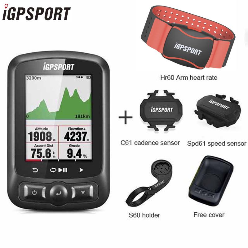 IGPSPORT Igs618 GPS Bike Computer Ant+Wireless Speedometer Waterproof Bicycle Computer Bluetooth 4.0BLE Bicycle Accessories