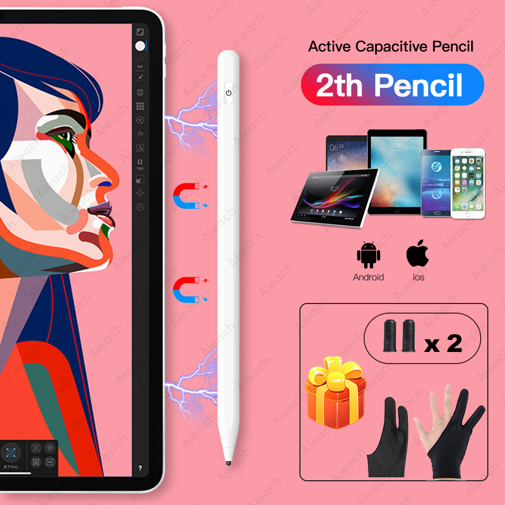 Universal Active Stylus Pen For Xiaomi Huawei Samsung IPhone Tablet Smart Touch Pencil For Apple IPad Only For Capacitive Screen