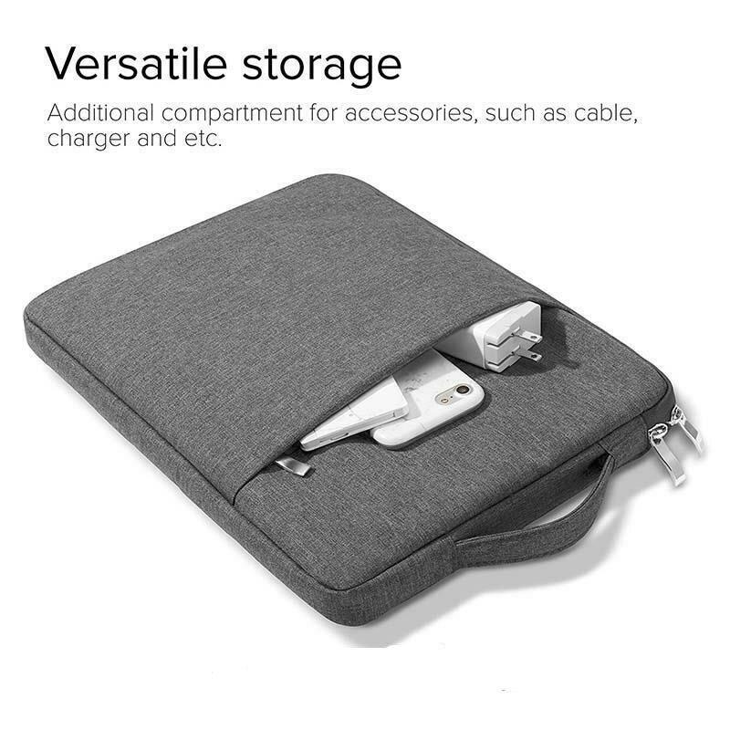 Handbag Sleeve Case For Lenovo Tab E10 Case Zipper Waterproof Case For Lenovo Tab M10 P10 10.1 Tablet Sleeve Case Cover