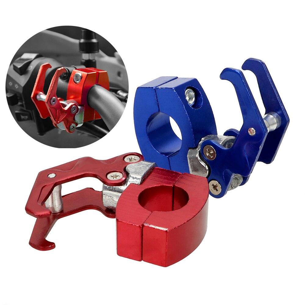 LEEPEE Helmet Claw Hook Carry Easy Install Aluminum Alloy Storage Bag Holder Luggage Bag Hanger 4 Colors Motorcycle Hook