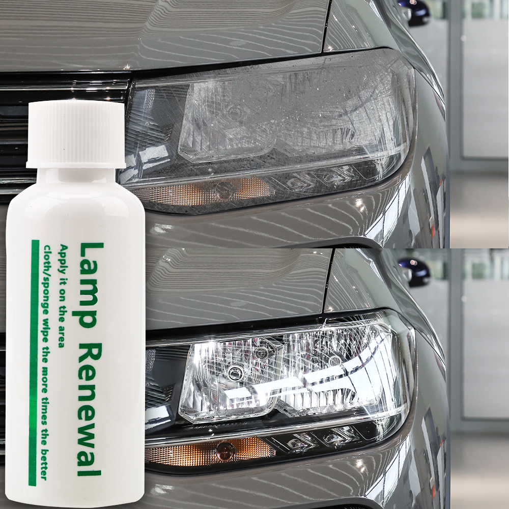 LEEPEE Car Maintenance Liquid 20/50ml Car Headlight Restoration Polishing Coat Lamp Retreading Agent Lamp Renovation Grinding Polishing Paste & Liquid  - AliExpress
