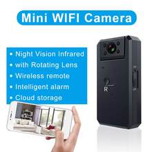 MD90S Mini Camera HD1080P Bewegingsdetectie Wifi 180 Graden Groothoek Nachtzicht Micro Camera Baby Veilige Zorg Dv Recorder