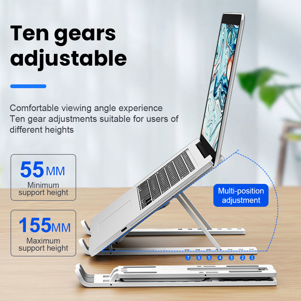 Laptop stand Laptop holder Support Base Notebook Stand For Macbook Pro Lapdesk Computer Laptop stand Cooling Bracket Riser
