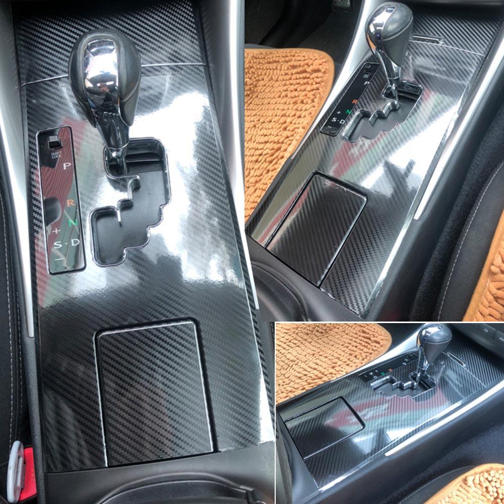 レクサス IS250 IS300 2006-2012Interior 中央制御パネルドアハンドル炭素繊維ステッカーデカールカースタイリング Accessorie
