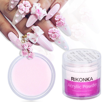 Manicure-Accessories Crystal-Powder Transparent Nail-Extension Professional for 3D French