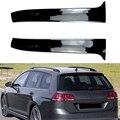 Автомобильное заднее крыло боковые Стикеры для спойлера Накладка для Golf Mk 7 вариант для автомобиля с кузовом универсал аксессуары для автом...