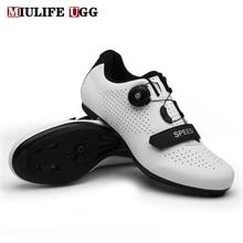 Cycling-Shoes Cleat Mountain-Footwear Flat-Sneakers Dirt-Bike MTB Spd Road-Racing Speed