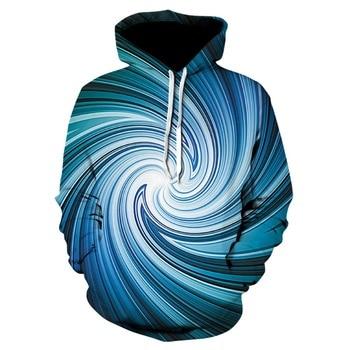 blueGeometric Pattern Unisex 3d Hoodies Men Women Hoodie Clothes Funny Streetwear  Hip Hop Sweatshirts coat 1