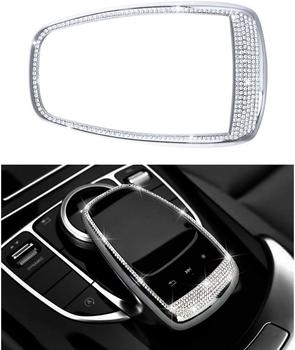 Compatible Touchpad Cap for Mercedes Benz Accessories Parts Bling comand Screen Covers Decals Sticker Interior Decorations W205