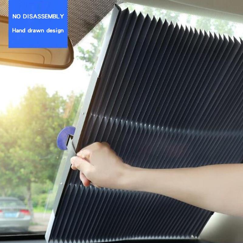 Sun-Visor Auto-Retractable-Sunshade for Front in Summer Wonderlife