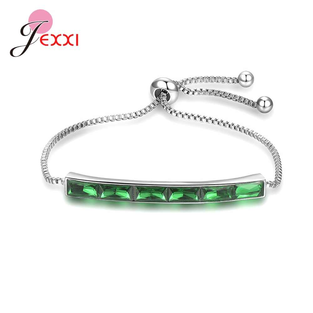 Top Quality Women/Girls/Lady Pure 925 Sterling Silver Fashion Jewelry Accessory Bracelets Bangles For Wedding/Engagement Party