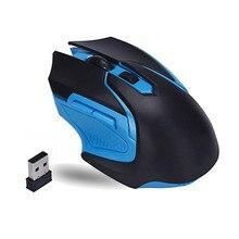 Беспроводная оптическая игровая мышь 2,4 ГГц для ПК компьютера ноутбука Беспроводная портативная оптическая мышь