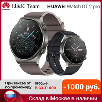 HUAWEI WATCH GT 2 Pro Smartwatch, 1,39 Zoll AMOLED HD-Touchscreen, 2 Wochen Akkulaufzeit, GPS & GLONASS, SpO2, 100+Trainingsmodi, Bluetooth-Anrufe, Herzfrequenzmessung