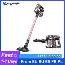 Proscenic p8 plus sem fio handheld aspirador de pó 15000pa sucção energia para tapete e piso