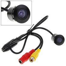 Новая Автомобильная камера заднего вида высокой четкости, 4 светодиодный монитор ночного видения с задним ходом, автомобильная парковочная камера CCD, водонепроницаемая, 170 градусов, HD видео