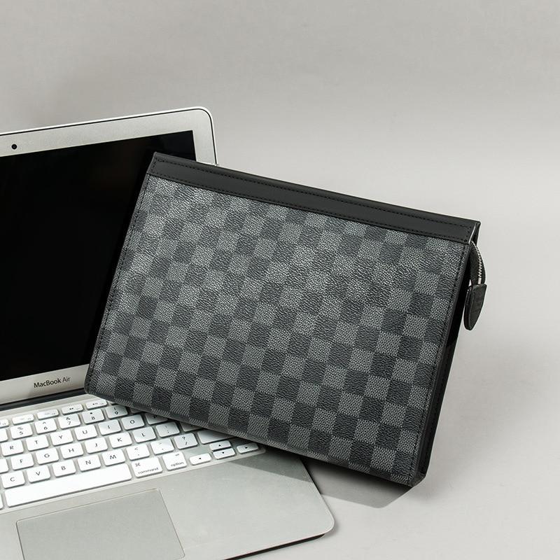 Men Briefcase Bag High Quality Business Leather Shoulder Messenger Bags Office Handbag Laptop Bag Bolso Hombre