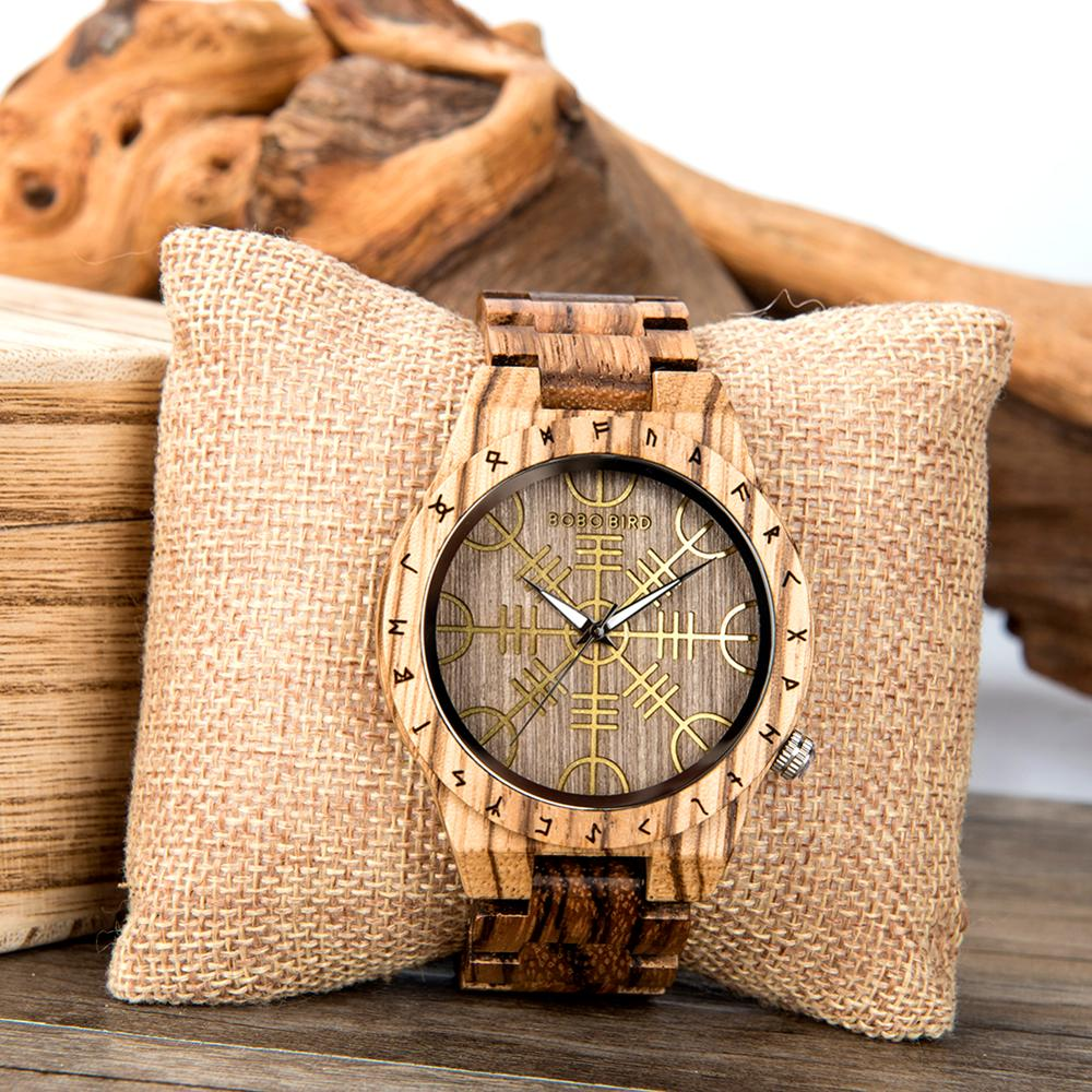 Image 2 - reloj hombre BOBO BIRD Wooden Mens Watches Top Brand Luxury  Japan Movement Watch Men Relogio Masculino OEM DropshippingQuartz Watches   -