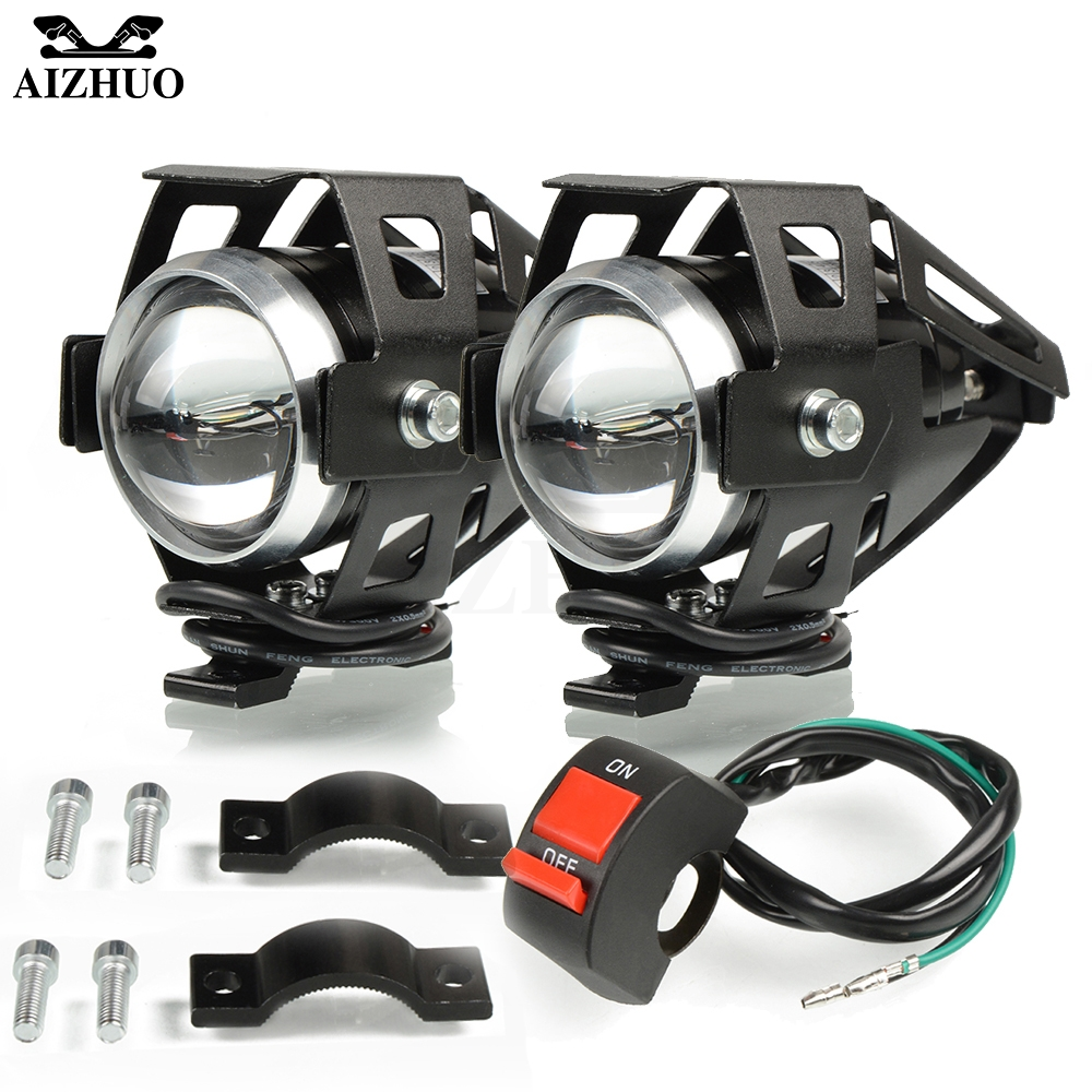 Motorcycle Headlights U5 Headlamp Spotlights Fog Head Light For HONDA NC750 S NC750X NC700 S/X NC700S NC700X NSR CBR 650F 600F