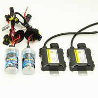 55W 12V Xenon Light Bulb Car Headlight 880 881 H1 H3 H7 H11 9005 9006 4300k 6000k 8000k HID Slim Ballast Xenon Kit