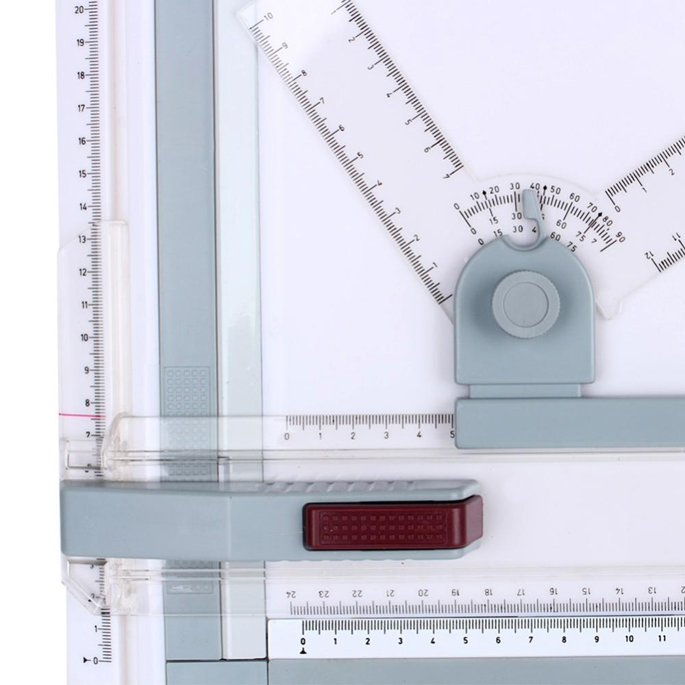 Best DealÐRuler Architect Drawing-Board Drafting Adjustable A3 with 2-Parallel And Corner-ClipsÒ