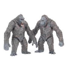 18cm King Kong cráneo isla gorila mono figuras en miniatura de juguete
