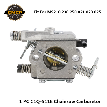 цена на 1pc Carburetor Carb Fit For Stihl MS210 MS230 MS250 021 023 025 Chainsaw Parts C1Q-S11E Chainsaw Carburetor