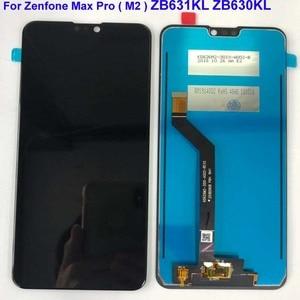Image 5 - 6.26 AAA الأصلي LCD ل Asus Zenfone ماكس برو M2 ZB631KL/ZB630KL شاشة الكريستال السائل محول الأرقام بشاشة تعمل بلمس قطع تجميع + الإطار