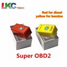 Супер OBD2 автомобильный чип блок настройки Plug and Drive SuperOBD2 PowerProg больше крутящего момента, как Nitro OBD2 чип тюнинг