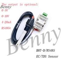 EC Transmitter TDS Sensor Module Conductivity 4-20mA Analog Voltage Output RS485 Output