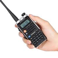 vhf uhf צריכת חשמל גבוהה FM Baofeng BF-Uvb2 Uvb2 פלוס עבור CB רדיו במכונית 8W ווקי טוקי החדש משדר VHF הלהקה כפול UHF רדיו ניידים (1)