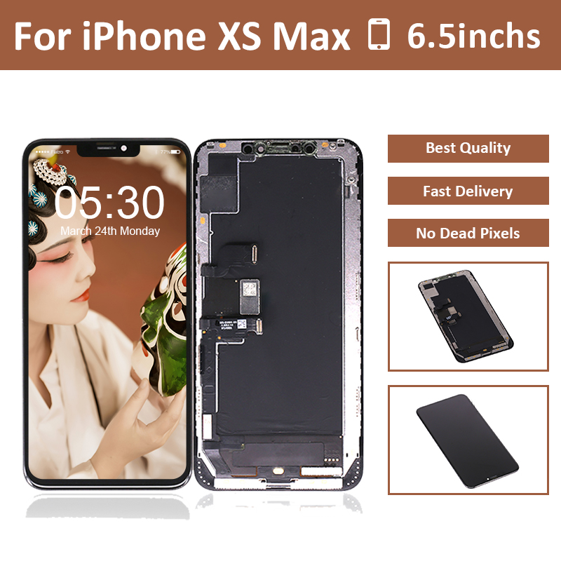 LCD Phone-Xs Digitizer-Sensor Lcd-Display Screen-Touch-Assembly Max-Screen Original